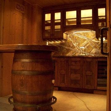 Skiby & Sons Wine Cellar