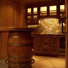 Mediterranean Wine Cellar by Skiby & Sons
