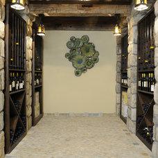 Traditional Wine Cellar by AKDO