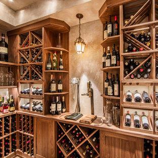Inspiration för medelhavsstil vinkällare