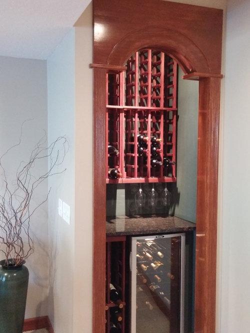 Budget Small Walk In Closet Wine Cellar Design Ideas