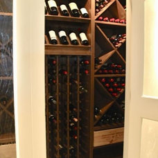 Wine Cellar by Veranda Estate Homes & Interiors