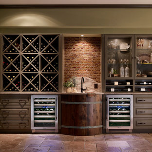 Design ideas for a wine cellar in St Louis.
