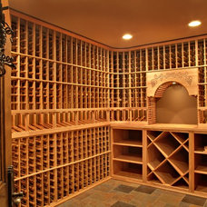 Traditional Wine Cellar by Southampton Builders