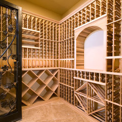 contemporary wine cellar by Soloway Designs Inc.