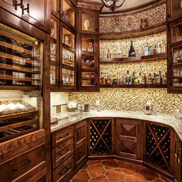 Spanish Colonial - Wine Vault