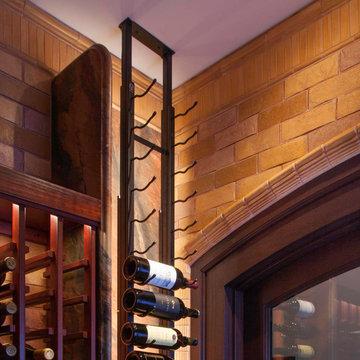 Spanish Inspired Dining & Living Room