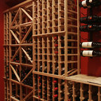 Wine Storage FL and Humidor Storage; This Wine Cellar Has it All! - Traditional - Wine Cellar ...