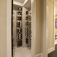 Transitional Wine Cellar by Spinnaker Development