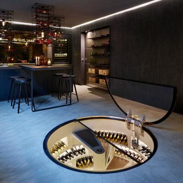Spiral Cellars | Subterranean Wine Cellar by Genuwine Cellars