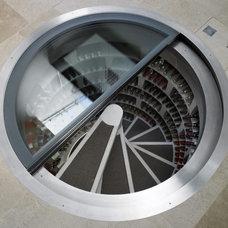 Contemporary Wine Cellar by Fancy