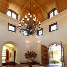 Traditional Wine Cellar by Terri Davis
