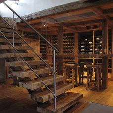 Rustic Wine Cellar by LBGB   /   LA BELLE GUEULE DE BOIS