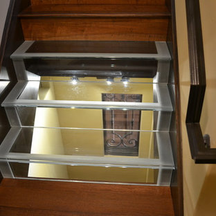 Staircases Converted for Wine Storage