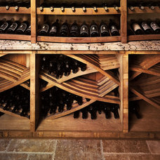 Traditional Wine Cellar by Savante Wine Cellars