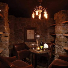Traditional Wine Cellar by ENJOY Co.