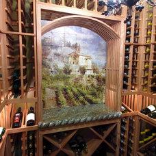 Mediterranean Wine Cellar by CheaperFloors