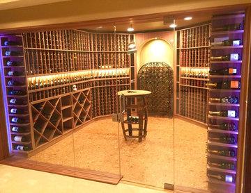 Strand Contemporary Cellar W/ Lighting - St. Louis. MO