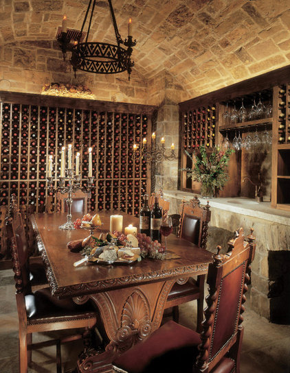 Rustic Wine Cellar by RMT Architects