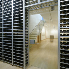 Modern Wine Cellar by Studio B Architecture + Interiors