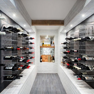 Stylish wine racks - STACT wine wall system
