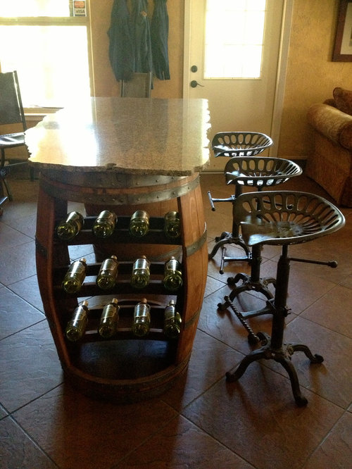 Suisun Valley Ca Wine Barrel Furniture