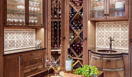 Room of the Day: An Inviting Space for Sipping Wine With Friends