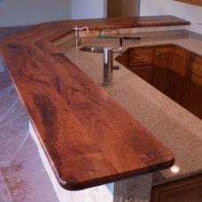 Rustic Wine Cellar by DeVos Custom Woodworking