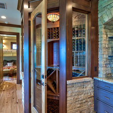 Traditional Wine Cellar by Advance Cabinetry