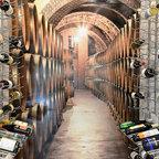 Dream Home Wine Room - Transitional - Wine Cellar ...