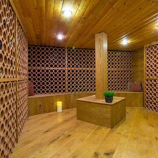 Inspiration för exotiska vinkällare
