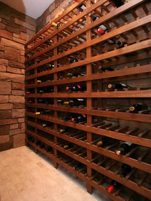 Wine Cellar Design Ideas inspiration for a mid sized industrial wine cellar remodel in dc metro with display racks 1024 Simple Wine Cellar Design Photos