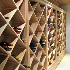 Rustic Wine Cellar by Integrity Home and Cottage