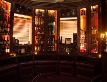 The Whiskey Tower at 'Flanagans bar' Killaloe