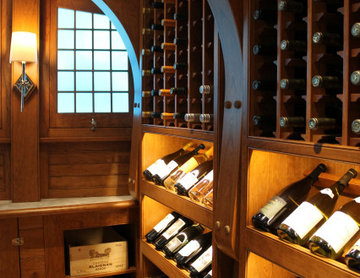 There's more than one way to display your wine collection