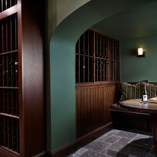 Traditional Wine Cellar by Morgante Wilson Architects
