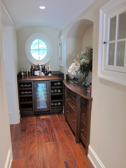 Traditional Wine Cellar by FGY Architects
