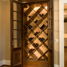 Traditional Wine Cellar by Whitestone Builders