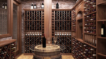 Traditional Wine Cellar by Imagination Wine Cellars