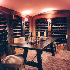 traditional wine cellar by Austin Patterson Disston Architects