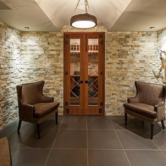 traditional wine cellar by Peter A. Sellar - Architectural Photographer