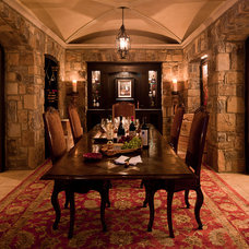 Traditional Wine Cellar by William T Baker