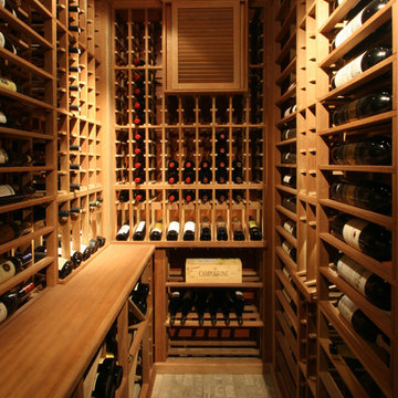 Traditional Wine Cellars by Papro Consulting