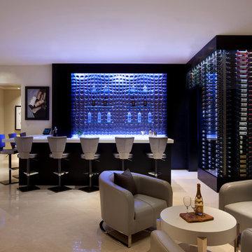 Transitional-Contemporary Home Design by I PLAN, LLC - Ocotillo, AZ