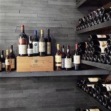 Modern Wine Cellar by Zakrzewski + Hyde Architects