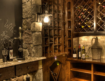 Trout Lake 1  Wine Room
