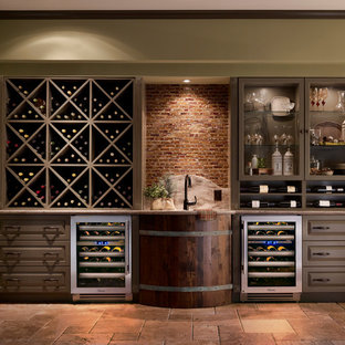 Most Popular Rustic St Louis Wine Cellar Design Ideas Remodeling