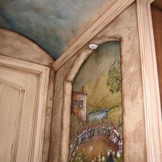Mediterranean Wine Cellar by DISTINCTIVE APPLICATIONS Kimberly Wohlfarth,Artist
