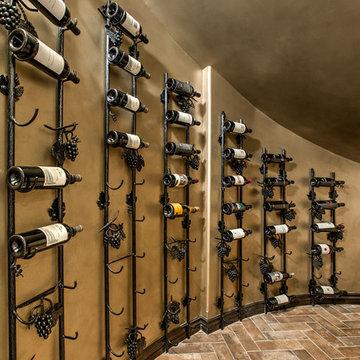 Tuscan Style Basement