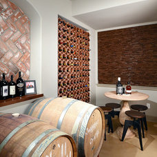 Traditional Wine Cellar by Basements & Beyond